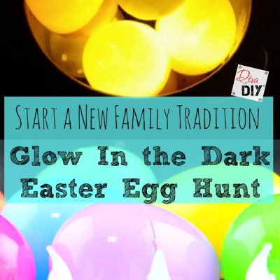 Glow in The Dark Easter Egg Hunt – Easy and Affordable