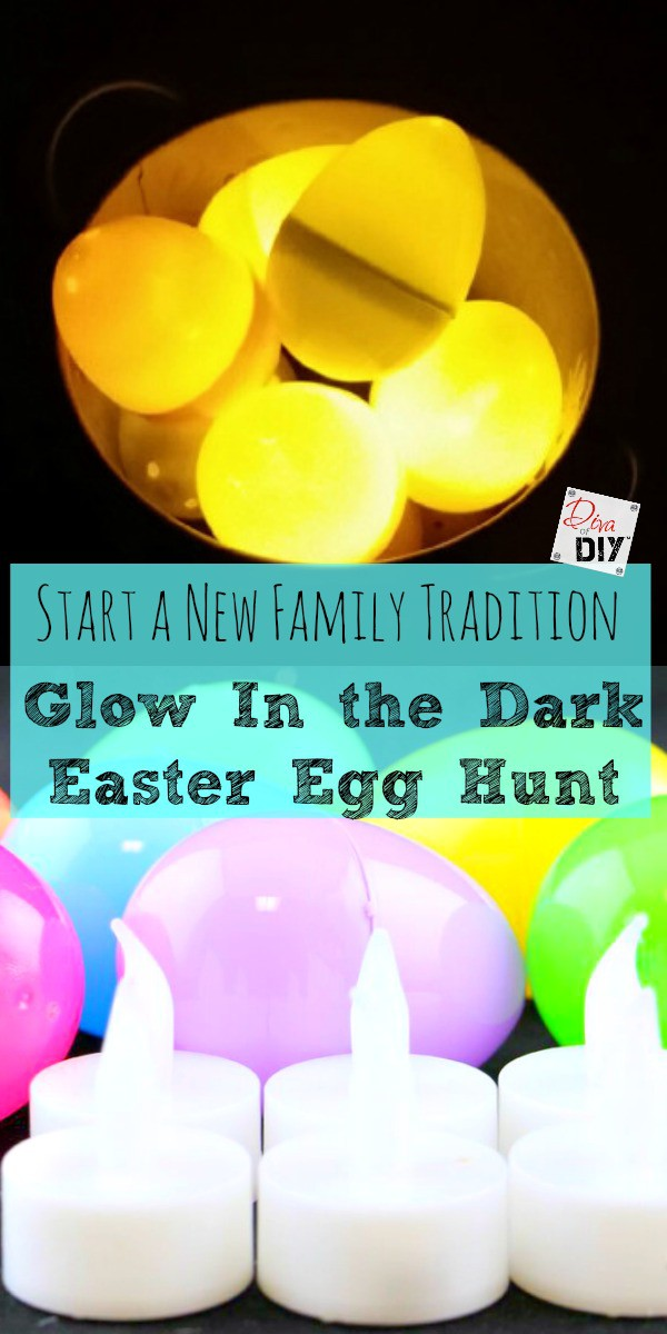 Glow in The Dark Easter Egg Hunt - Easy and Affordable