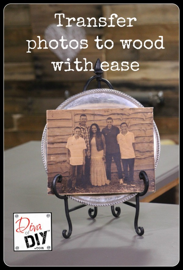Transfer Photos To Wood With Confidence and Ease
