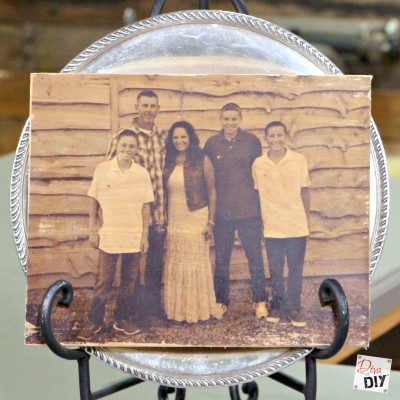 Photo Ideas:  How To Create a Wood Transfer With Ease