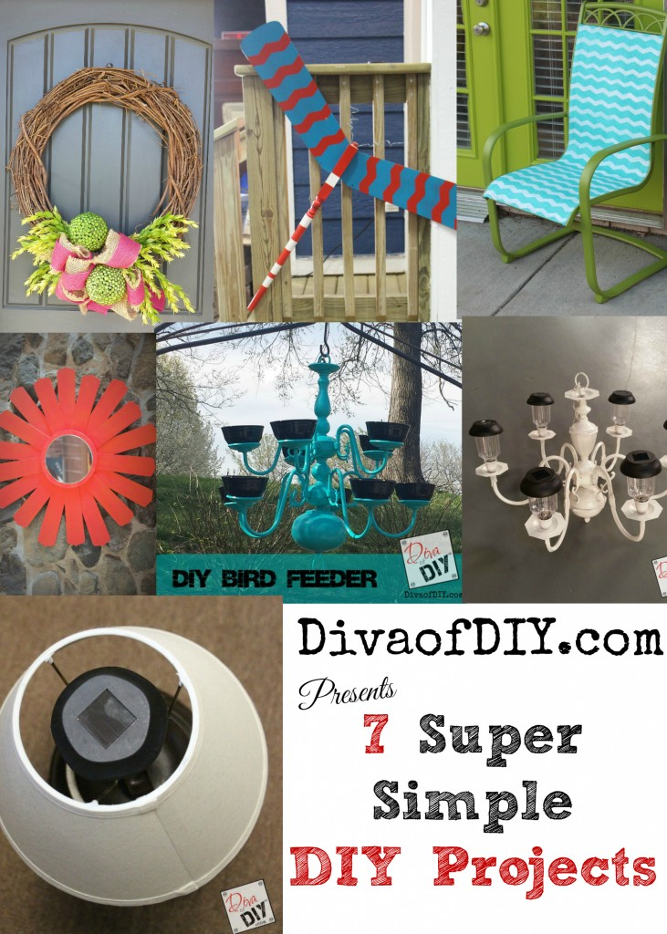 7 Super Simple DIY Projects