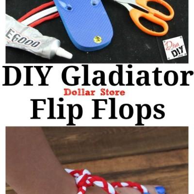 Make Your Own Flip Flops (Gladiator Style)