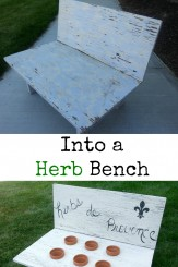 Herb Bench Project Diva of DIY