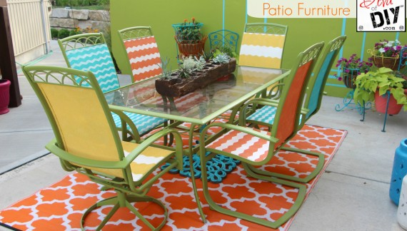 Update Your Tired Patio Furniture with Frog Tape {and Contest!}