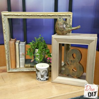 Easy Photo Frame Shadow Boxes: How to Display Your Treasures