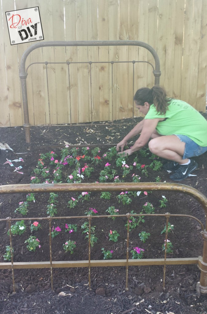 flower bed step 3
