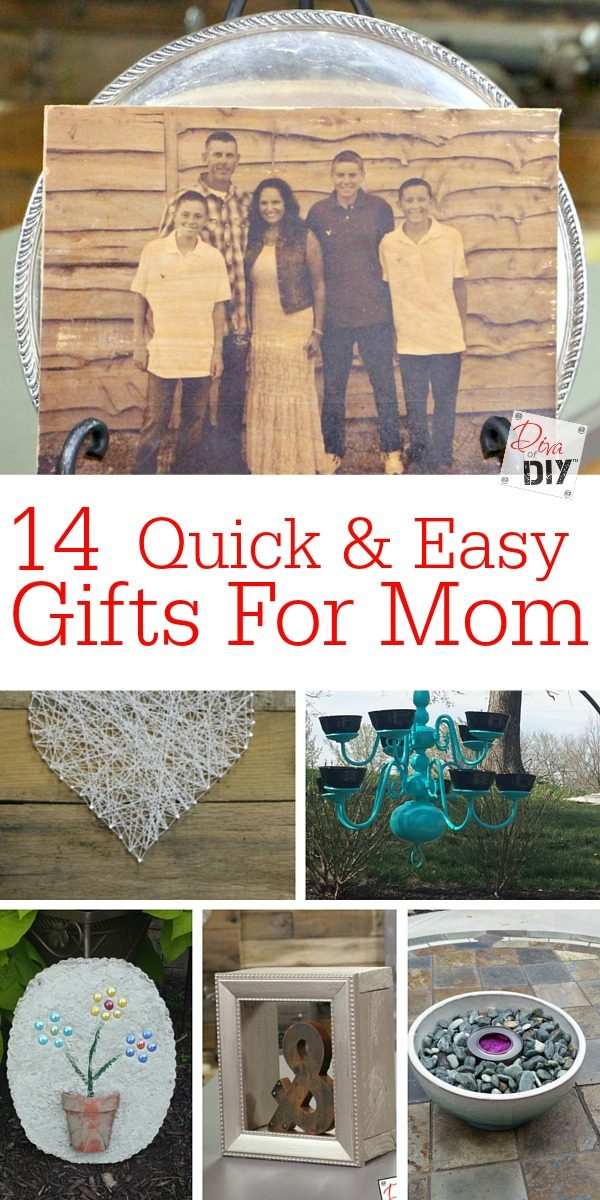 14 Perfect Diy Gifts For Mom These Projects Are Quick Easy And Inexpensive