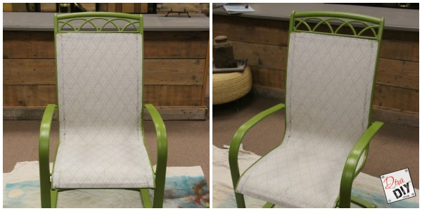 Is your patio furniture tired and worn? Don't throw your set away, update it! The perfect outdoor patio idea DIY to upcycle your set with paint! chalk paint