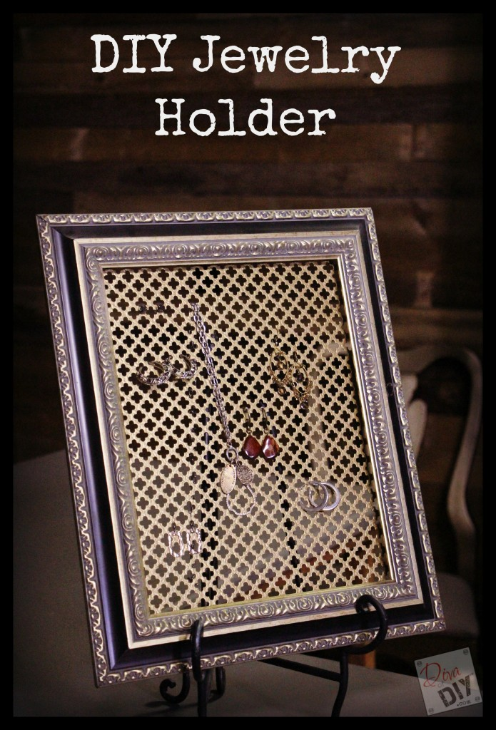 Make Your Own Diy Jewelry Organizer Diva Of Diy
