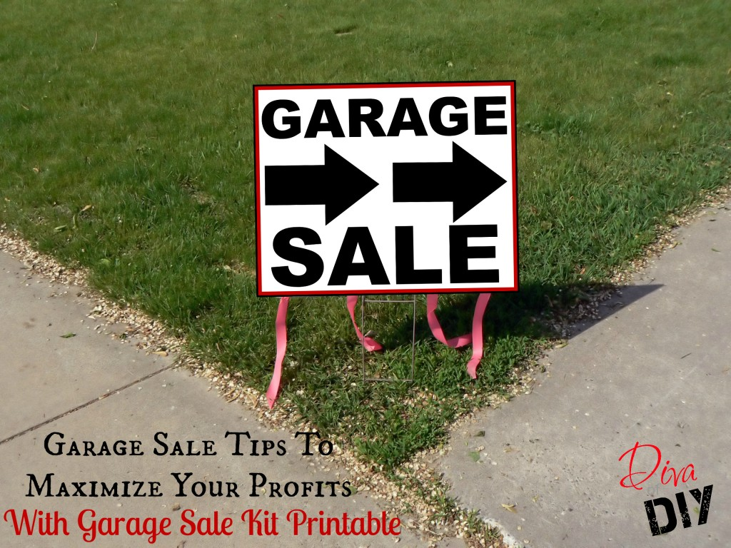 Garage Sale Tips Diva of DIY