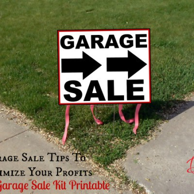 Garage Sale Tips to Maximize Your Profits