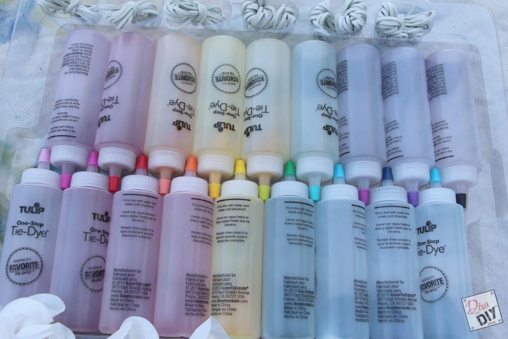 Tie dye colors pic