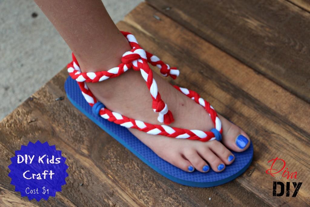 DIY Sandals for Kids