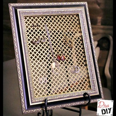 How to Make Your Own DIY Jewelry Organizer