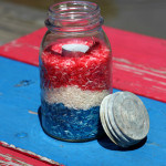 festive mason jar votive candle holder for july 4th