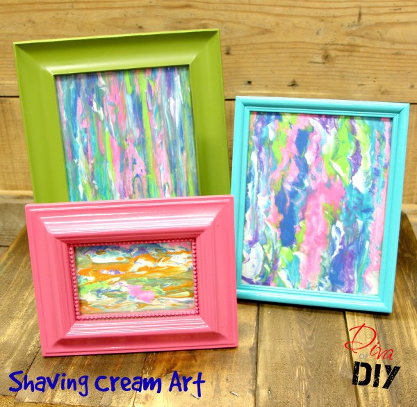 Shaving Cream Art