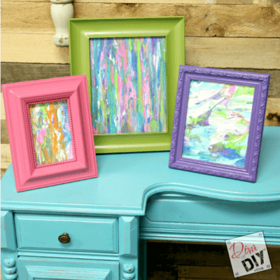 Simple Craft For Kids:  How To Create Shaving Cream Art