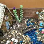 How to make your own Easy DIY Fairy Garden House complete with simple accessories you can make to create your own homemade miniature village. Cheap ideas!