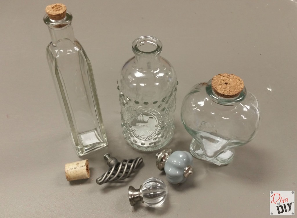 Decorative Bottles With Stoppers Mesmerizing How To Make Glass Jars With Decorative Cork Stoppers Review
