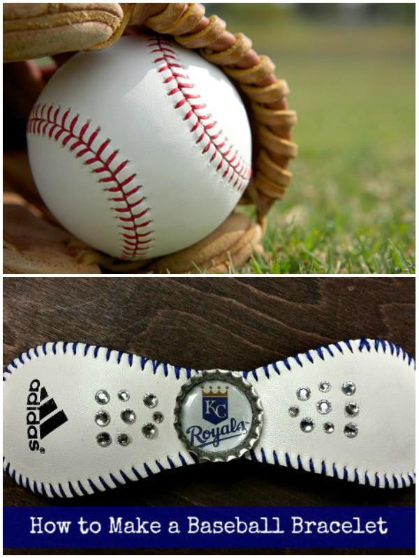 easy baseball bracelets