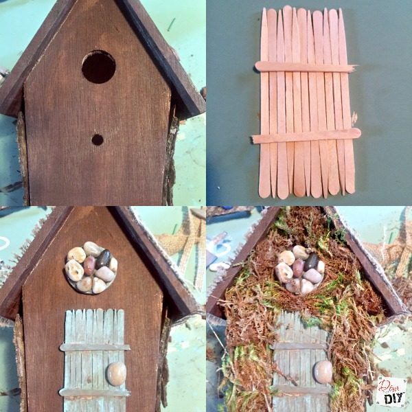 How to make a fairy garden that is easy and inexpensive for How to make a house step by step