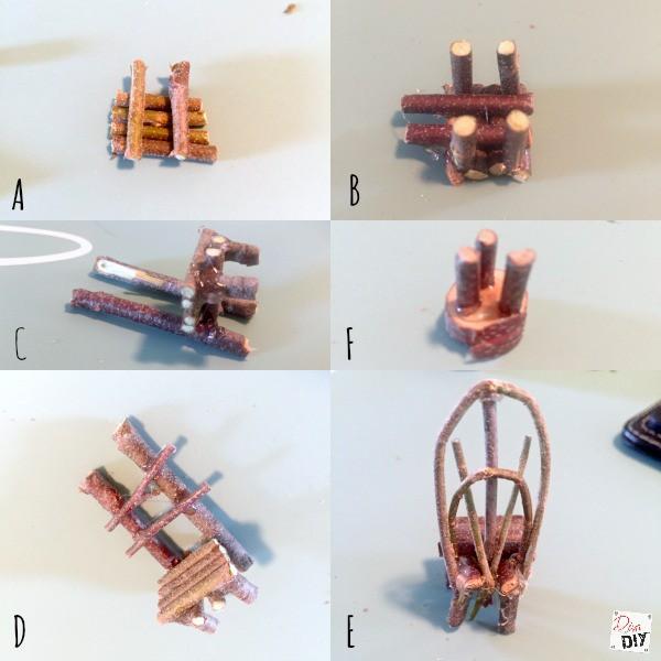 Fairy Garden Accessories Diy Stick Chair Diva Of Diy