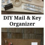 DIY Mail & Key Organizer