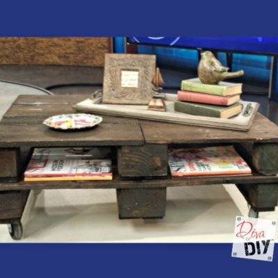 How to Make the Perfect Pallet Coffee Table