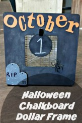 Halloween Decorations | Easy countdown frame