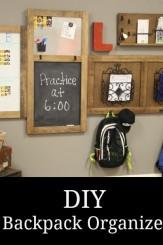 diy backpack organizer