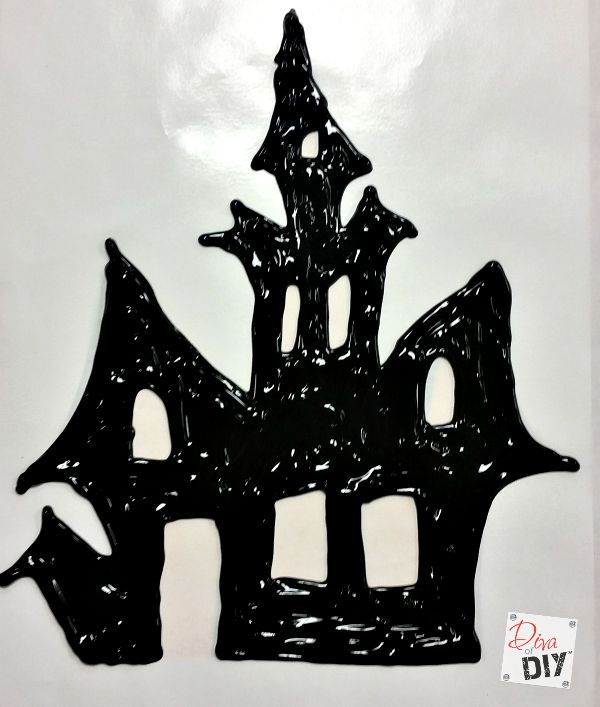 DIY Window Clings are the perfect touch! Try some Easy Halloween Crafts for Kids to help them show their creativity in your home's Halloween decorations!