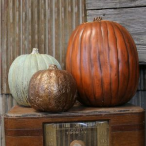 How to Make a Realistic Faux Pumpkin