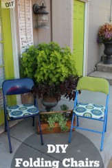DIY folding chairs