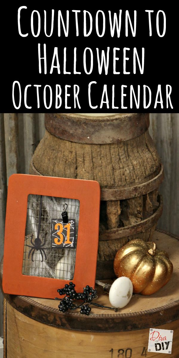 this cheap halloween october calendar is the perfect halloween decoration for kids to make this