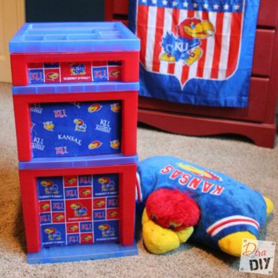 Quick and Easy Plastic Storage Container Makeover