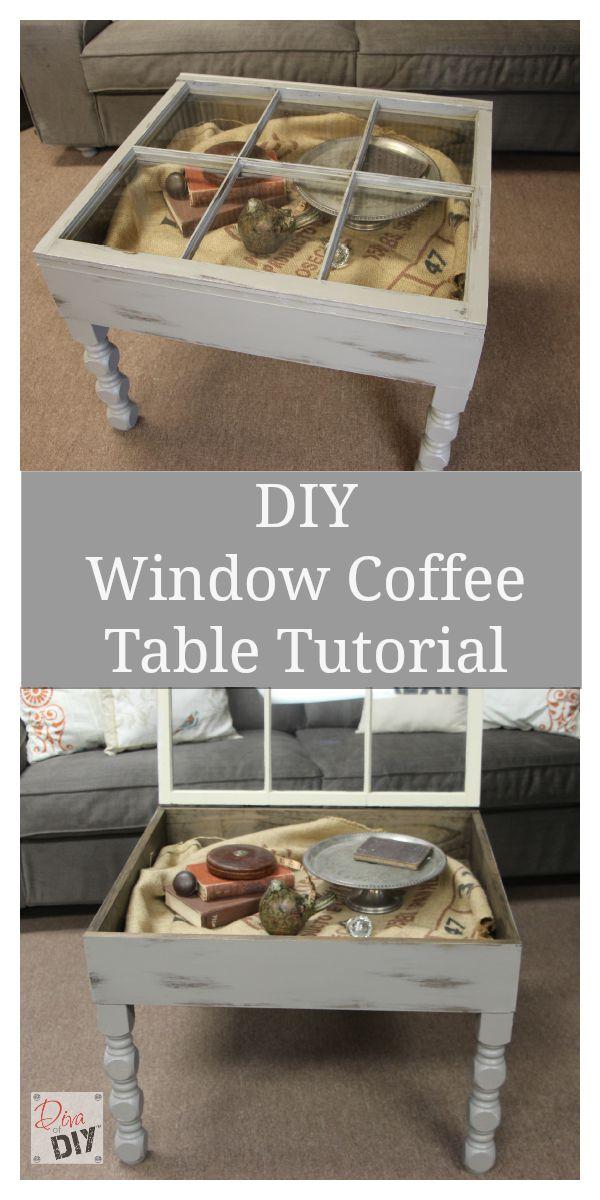 Diy Window Coffee Table