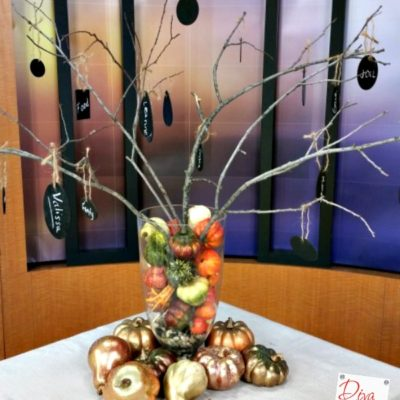 Thanksgiving Craft: How to Create a Thankful Tree