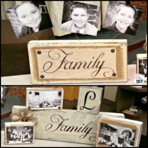 Easy DIY Gifts:  How To Make Photo Blocks