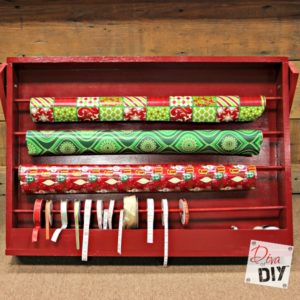 How to Make a DIY Easy Gift Wrap Organizer