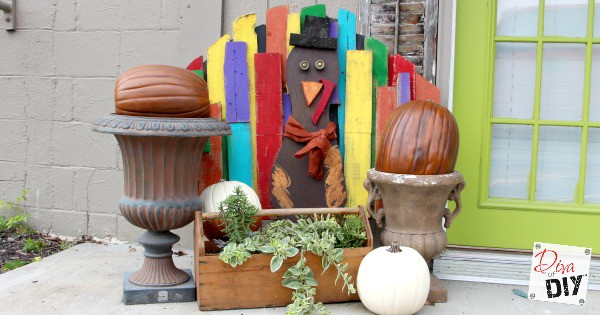 Turkey Tom How To Make A Pallet Turkey To Greet Guests