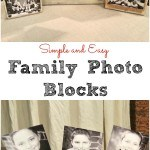 easy handmade photo blocks