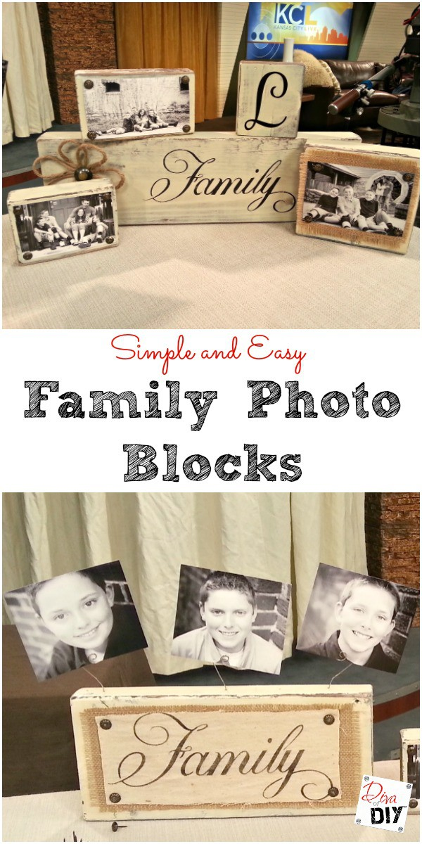 These easy photo block DIY gifts are perfect for everyone on your gift list. The perfect photo gift idea to personalize for Christmas or any celebration!
