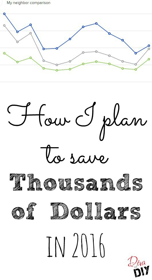 how to save money and energy in the new year