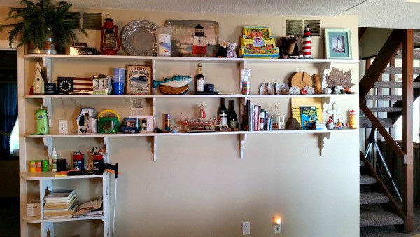 lake viking kitchen bookcase