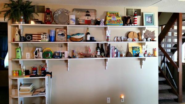 lake viking kitchen bookcase