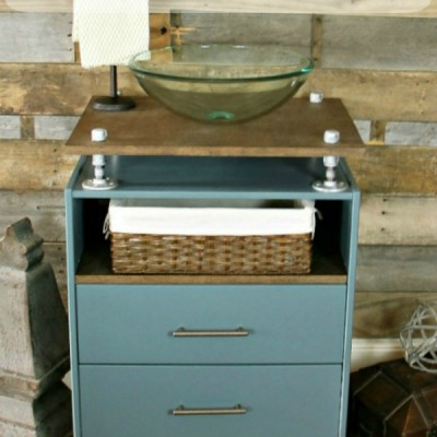 Build this Easy Furniture Vanity in a Day
