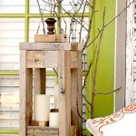 This 2x4 rustic lantern is perfect for all seasons and using pallet wood 2x4's makes it practically free! Tutorial includes design sketch and cutting list.