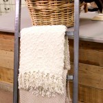 What is not to like about saving money and having a storage solution that is appealing to the eye? This blanket ladder has it all for only $5!