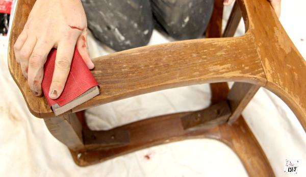 chalk mix chair makeover (4)