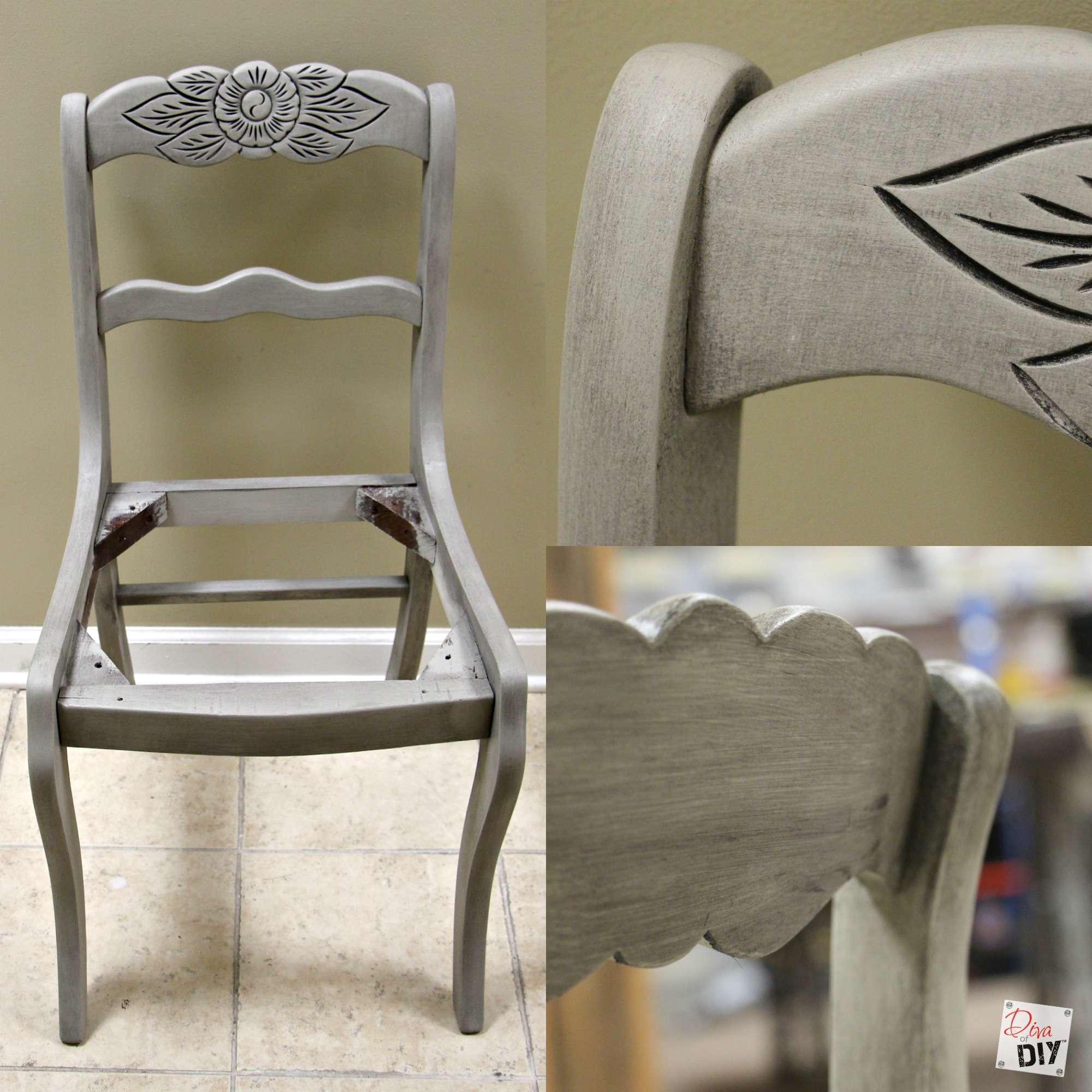 chalk mix chair makeover (9)
